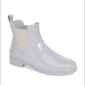 NWOT Hunter Original Refined Chelsea Rain Boot